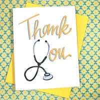 Quarantine Collection: Stethoscope Thank You