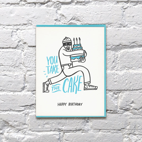 Take Cake Birthday Card