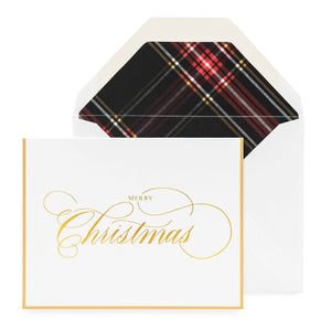 Holiday Christmas Tartan Noteset