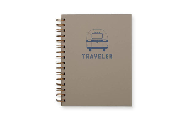 Traveler Lined Notebook