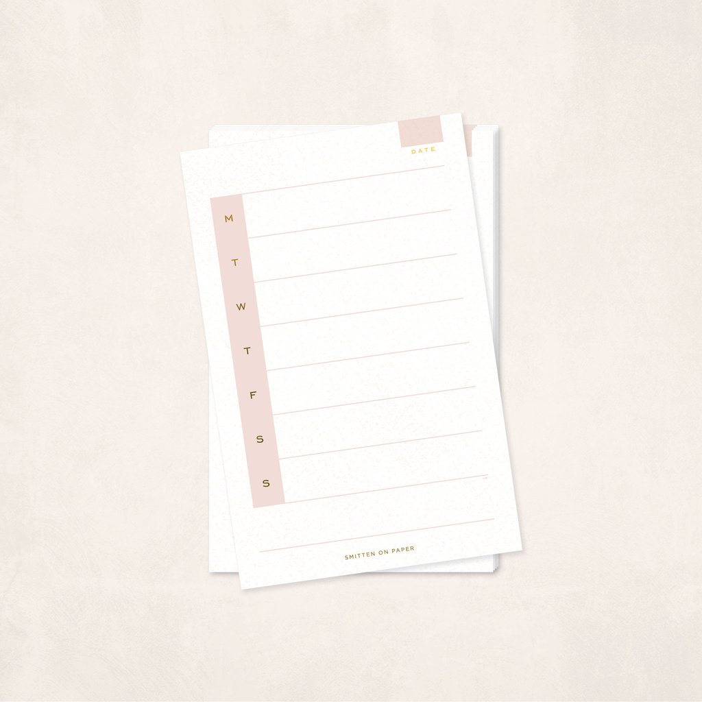 Weekly Notepad