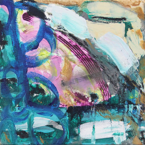 Transition 15 - Original Abstract Painting on Canvas (for Diptych see Transition 14 also)