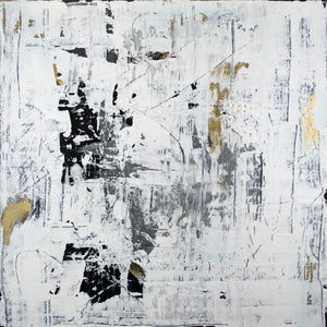 Daphnis and Chloe VI - Original Abstract Painting on Canvas