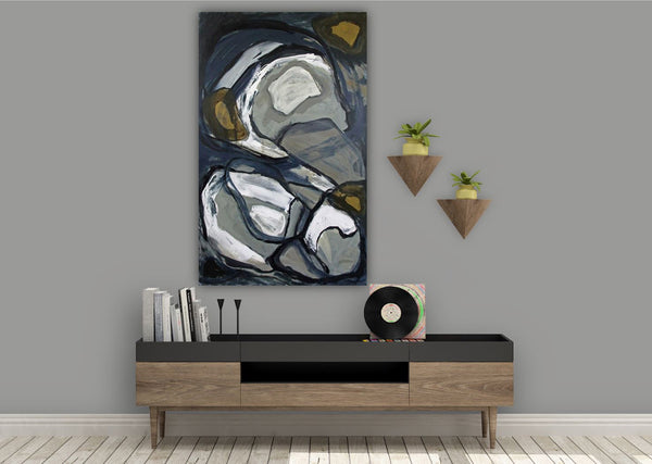Transition 1 - Original Abstract Painting on Canvas
