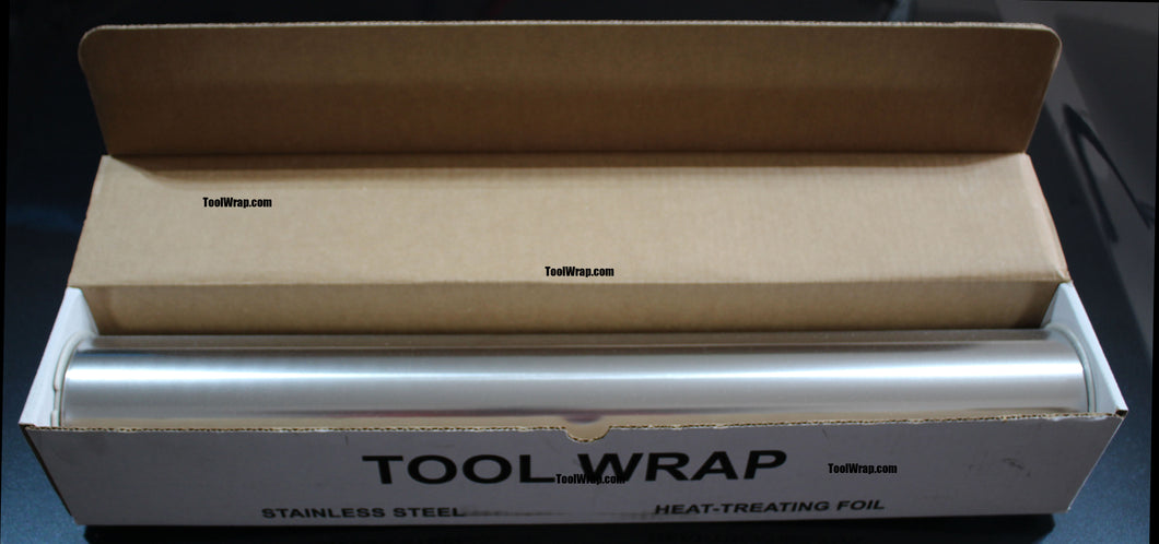100' Type 321 Stainless Steel Tool Wrap 100' x 24