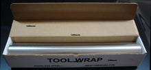 "Load image into Gallery viewer, 25' Type 309 Stainless Steel Tool Wrap 25' x 24"" x .002 - Tool Wrap"