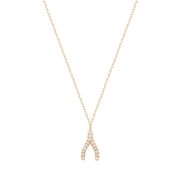 Colgante Wishbone Diamonds