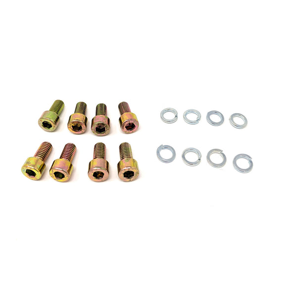 600 Grosser Mercedes, 8 - Screw and Split Washer Set for W100,  8-hole Pressure Ring, Front Axle, W100, Mercedes Benz N000912008089 and N912006008000