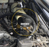 600 Grosser Mercedes Hydraulic Tank location