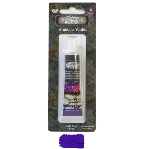 Art Alchemy Metallique Wax- Electric Violet