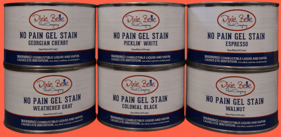 No Pain Gel Stain (Oil Based)