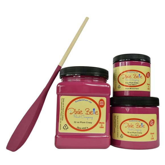 Plum Crazy Chalk Mineral Paint