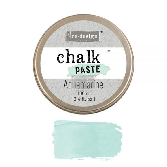 re*design Chalk Paste- Aquamarine