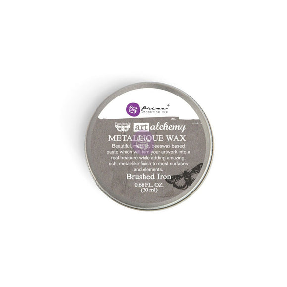 Art Alchemy Metallique Wax- Brushed Iron