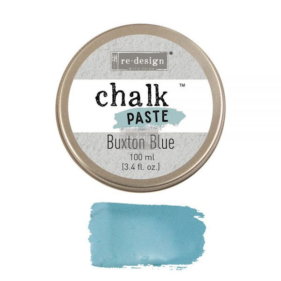 re*design Chalk Paste- Buxton Blue