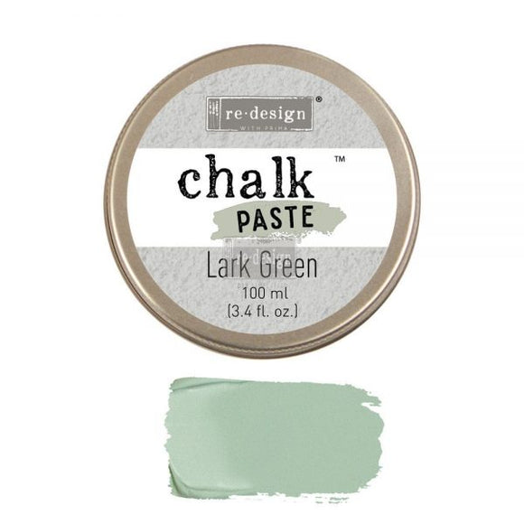 re*design Chalk Paste- Lark Green