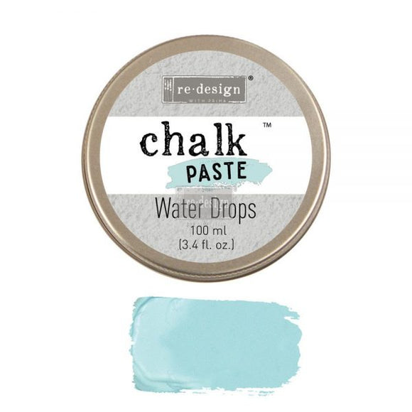 re*design Chalk Paste- Water Drops