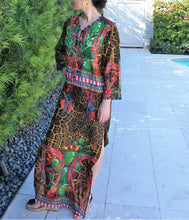 Load image into Gallery viewer, Animal print Kaftan - Lovinglam