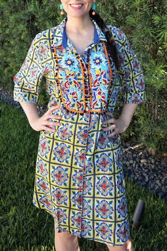 Shirt dress - Lovinglam