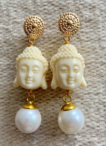 Buddha earrings - Lovinglam