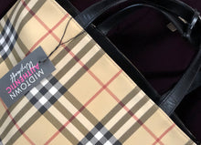 Load image into Gallery viewer, Burberry Nova Check Medium Tote