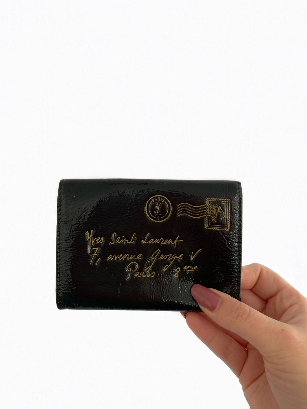 YSL Patent Leather Wallet