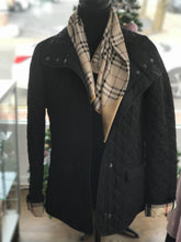 Load image into Gallery viewer, Burberry Black Diamond Quilted Jacket