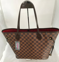 Load image into Gallery viewer, Louis Vuitton Neverfull MM Damier Ebene