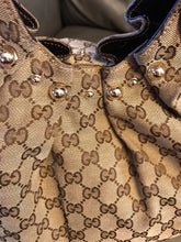 Load image into Gallery viewer, Gucci Studded Large Pelham Tote