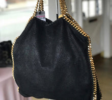 Load image into Gallery viewer, Stella McCartney Falabella Shaggy Deer Foldover Tote