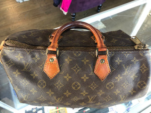 Louis Vuitton Speedy (repurpose)