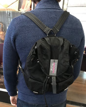 Load image into Gallery viewer, Prada Logo Saffiano Backpack