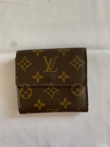 Louis Vuitton Elise Portefeuille Trifold Wallet