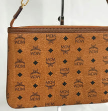 Load image into Gallery viewer, MCM Zippered Clutch