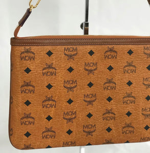 MCM Zippered Clutch