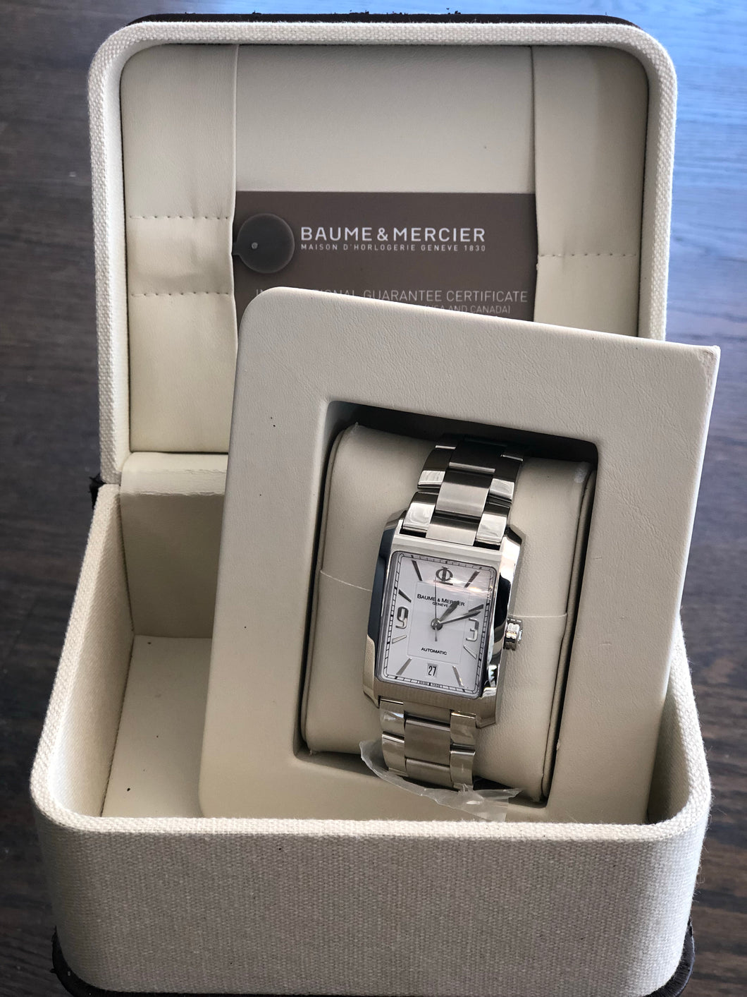 Baume & Mercier Stainless Steel Watch