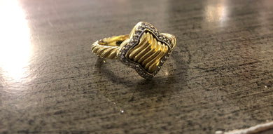 David Yurman Quatrefoil Ring