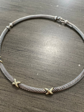 David Yurman Crossover Necklace
