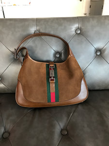 Gucci Jackie Web Stripe Hobo