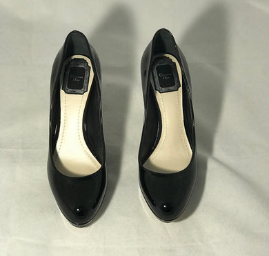 Christian Dior Black Miss Dior Pumps