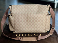 Load image into Gallery viewer, Gucci GG Supreme Monogram Diaper Bag