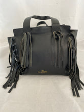 Load image into Gallery viewer, Valentino Garavani Leather Fringe Tote Bag
