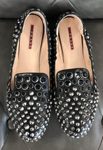 Load image into Gallery viewer, Prada Studded Flats
