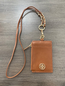 Tory Burch Card Holder with Lanyard