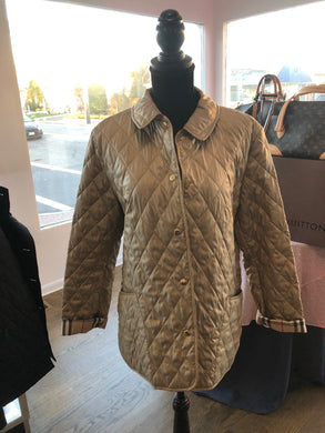 Gold Burberry Jacket