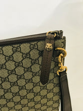 Load image into Gallery viewer, Gucci GG Supreme Bee Portfolio Clutch