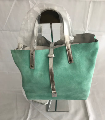 Tiffany & Co. Reversible Tote with Detachable Pouch