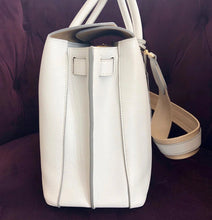 Load image into Gallery viewer, MCM White Leather Tote