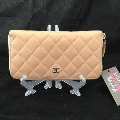 Chanel Long Zippered Wallet