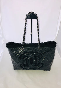 Chanel Quilted Jumbo Shopper Tote